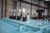 Transformateurs de pétrole de cuivre triphasés d'enroulements