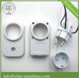 電気プラグのためのプラスチック注入部品そして型