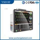 Bewegliche Multi-Parametermedizinische Handmaschinen-Patienten-Überwachungsgerät Ysd18f