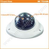 小型機密保護CCTV 30m IR MegapixelのドームIP IRのカメラ