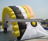 Factory Price Inflatabl Chief Footable Helmet tunnel