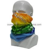 Écharpe polaire tubulaire promotionnelle d'ouatine d'impression faite sur commande de logo