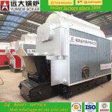chaudière à vapeur allumée par charbon horizontal automatique commercial de qualité de l'assurance 1-20ton à vendre
