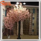 Напольный или крытый декоративный розовый искусственний вал цветения вишни
