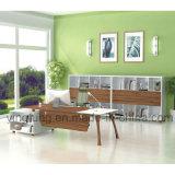 현대 행정상 나무로 되는 사무실 책상 (YF-T2022)