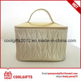 O saco de viagem da lavagem do plutônio das senhoras portáteis, senhoras compo o saco, saco cosmético
