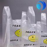 習慣によって印刷されるプラスチックTシャツ袋、中国の製造業者