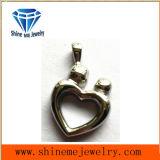 ステンレス鋼の宝石類の磨かれた魅力のペンダント