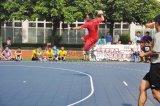Langlebiges Gut, welches die im Freien/Indoor-Handball-Gerichte ausbreiten Handball-Bodenoberfläche blockiert