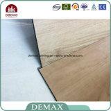 Plancia residenziale europea di legno della pavimentazione del vinile del PVC