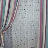 Salon Style Moderne Rangées verticales Chenille Blackout Curtain