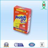 detergente detergente de los Suds del cartón del rectángulo 200g del hogar inferior de la fórmula