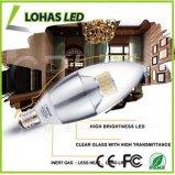 60 와트 동등한 온난한 백색 E12 LED 장식적인 초 전구 가지가 달린 촛대 기초