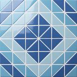 Tegels van de Driehoek van het Patroon van het Mozaïek van het Zwembad van de badkamers de Ceramische