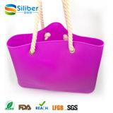 ショッピングおよびトートバックを浜に引き上げるための昇進のギフトまたは洗濯できる材料が付いているハンドバッグ