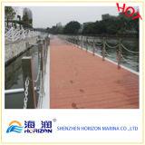 Decking плавучего дока Decking/высокого качества WPC напольный