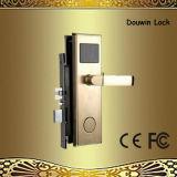 Bloqueo de puerta europeo de la maneta de puerta RFID con el lector de tarjetas