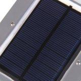 Luz ahorro de energía del sensor solar de la lámpara de pared de la galería de la carrocería del patio