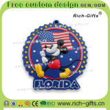 Ricordo personalizzato Florida (RC- Stati Uniti) dei magneti del frigorifero del magnete dei regali della decorazione