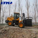 Diesel van 10 Ton van Ltma de Nieuwe Ruwe Vorkheftruck van het Terrein voor Verkoop