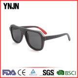 ハイエンド男女兼用の黒い分極されたサングラス木(YJ-MB180)
