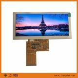 seul TFT LCD d'utilisation d'Inustrial de 4.6 pouces avec la luminance 400nits