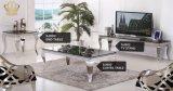 2017 completo de acero inoxidable comedor silla silla de banquete y muebles de mesa con el precio de cristal Sj802