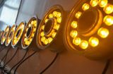 luces subacuáticas decorativas impermeables de la fuente de la fábrica LED de 9W Shenzhen