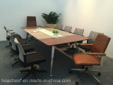 Nieuwe High Class Conference Desk met pvc Leather (E9A)