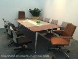 Nuevo escritorio de clase superior de la conferencia con el cuero del PVC (E9A)
