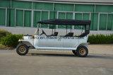 Neuestes Cer genehmigte 8 Seater 48V elegante Rücksortierung-elektrische Weinlese-klassische Golf-Karre