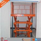 Anhebende Auto-stationäre hydraulische Scissor Aufzug-Plattform