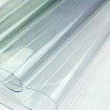 Hoja estupenda del PVC del claro