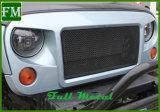 Traliewerk van de Rand van het Insect van de Grill van het Netwerk van de wreker het Netto Ruwe voor Jeep Wrangler Jk