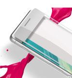 Película protetora do telefone da tela Ultra-Thin quente do vidro Tempered de tampa cheia do arco 0.33mm das vendas 3D para Sony Xa