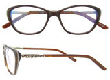 De nieuwe Manier Eyewear van de Frames van de Glazen van het Oog van de Kat van de Frames van Italië van het Frame van de Acetaat van de Aankomst Optische