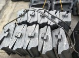 Trazador de líneas de la pista del extremo de la alimentación del trazador de líneas del molino del cemento Mn16cr2
