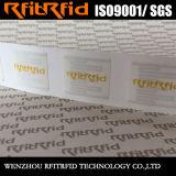 De vrije Sticker van de Markering van het Windscherm van het Bewijs RFID van de Stamper van de Steekproef Vernietigbare UHF voor de Identificatie van het Voertuig