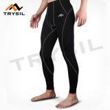 Mens pantalones de la pista de gimnasio Legging