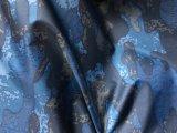 Рециркулированная напечатанная ткань одежды проверки диаманта ткани Pongee с покрытием TPU Milky