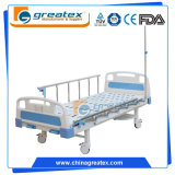 Хозяйственная складная больничная койка 2 рукояток ручная (GT-BM5205)