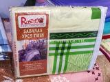 Fábrica polivinílica/talla determinada de la reina de la hoja de cubierta de base del lecho moderno de la colcha de la tela del material del algodón que acolcha