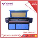 Automatische führende lederne Fibric Laser-Ausschnitt-Gravierfräsmaschine