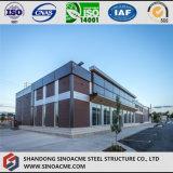 現代デザインレストランのための鉄骨構造の構築