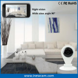 Digitale P2p IP 360 Degree kabeltelevisie Camera met BR Card Slot