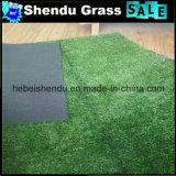 Tapete sintético da grama do jardim Anti-UV da paisagem de 1cm