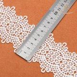 Lacet chimique de la mode 2017 de coton chaud de fleur pour le lacet de vêtements
