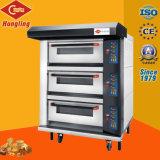 Extensamente uso no forno elétrico da padaria 3-Deck 6-Tray