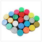 Peinture de jet acrylique r3fléchissante fluorescente d'aérosol