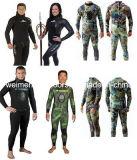 Qualität Heiwa Sheico Yamamoto Neopren Camo Art-geöffneter Zelle Freediving Spearfishing Wetsuit mit Kleber., 02